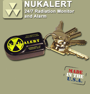 NukAlert Key Fob